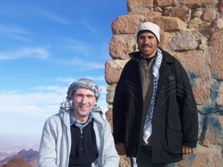 With Moussa our Egyptian Guide