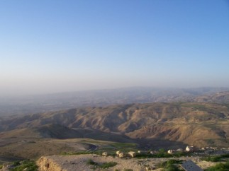 Mt. Nebo where Moses died