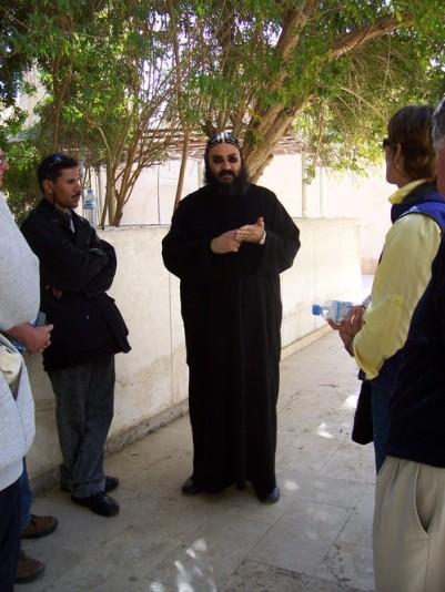 Egyptian Coptic Orthodox Monk