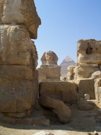 The Sphinx and the Pyramids, Cairo